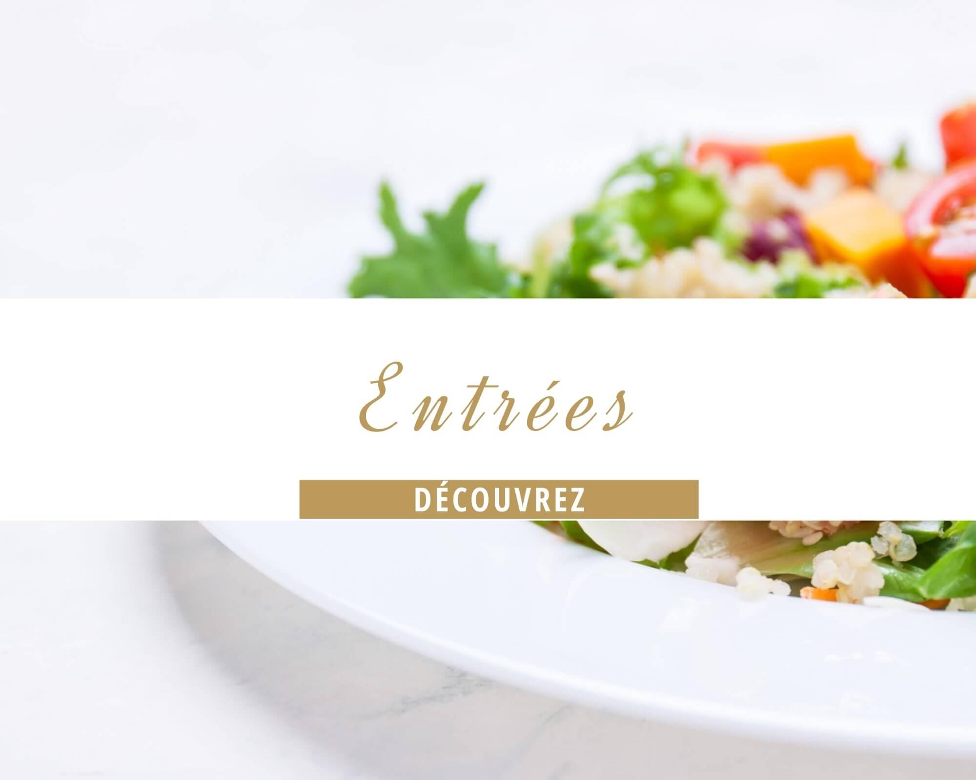 Entrées / salades de la Pizzéria La Crotonèse